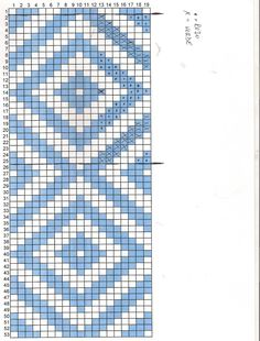tejidos a telar, Tapestry Crochet Patterns, Bead Loom Patterns, Crochet Stitches Patterns, Weaving Patterns, Knitting Patterns, Graph Crochet, Crochet Yarn, Cross Stitch Pattern Maker, Cross Stitch Patterns