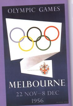 1956 - Olympic Games Melbourne