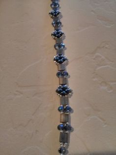 Tila and twin bead bracelet Picture Only