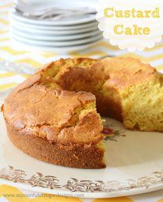 Custard Cake | A Spoonful of Sugar