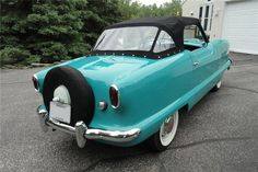 1955 Nash Metropolitan Convertible... Can't have too many of these cars!!!
