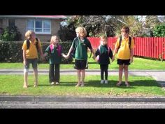 Examples of projects by New Zealand school students to create messages about safe walking. Many of these were finalists in competitions run by or sponsored by the NZ Transport Agency.