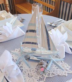 Sailboat Centerpiece