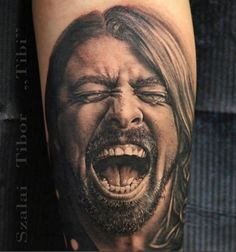 Dave Grohl Tattoo..