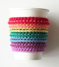 The weather outside may be frightful, but rainbows make it delightful! Today you'll learn how to crochet your own rainbow cup cozies. If you've always wanted to learn how to crochet, follow our...