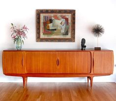 60s Danish Modern Teak Credenza. My love for teak runs deep for sure.