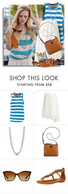 """""""Get the look - Kristina Bazan"""" by breathing-style ❤ liked on Polyvore featuring Current/Elliott, N°21, BERRICLE, Nine West, Bulgari and Lucky Brand"""