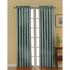 Eclipse Canova Thermaback Blackout Window Panel Blue