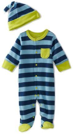 Offspring - Baby  Boys Newborn Footie and Hat, Blue Stripe, 3 Months Offspring - Baby Apparel,http://www.amazon.com/dp/B006BY1XQ4/ref=cm_sw_r_pi_dp_NfT7rb0EBHDSGS6F