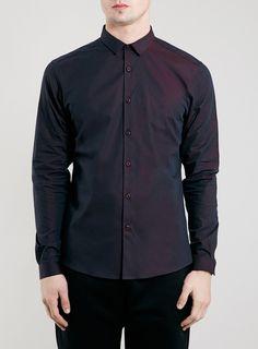 Photo 1 of Premium Crimson Tonic Long Sleeve Smart Shirt
