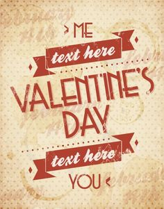 Free vector Valentines card in grunge style