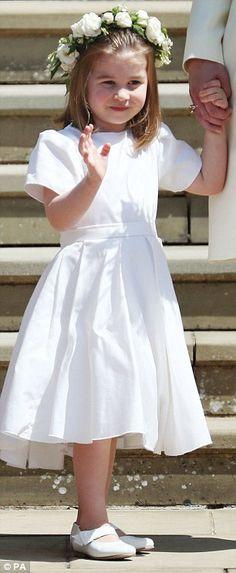 Pictured: Princess Charlotte...