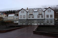 Taken from the pier at Fosshotel Eastfjords in Faskrudsfjordur. Will open in spring 2014. #hoteleasticeland #hoteleastfjords