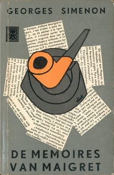 Book Cover Design by Georges Simenon