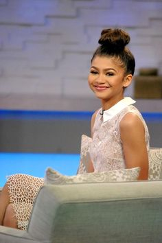 Zendaya at Good Morning America in NYC 4/22/15