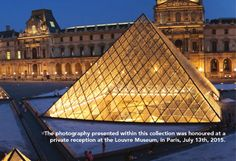 Shunkaha Pack Member's Photo Displayed at the Louvre Museum in Paris , July 2015 . What an honour for the Shunkaha Dog Pack . So proud of Kaliska .