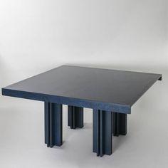 """""""Quatour"""" Table by Carlo Scarpa for Simon Gavina 4"""