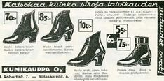 #Nokia #kengät #1934 #uutuudet #talvi