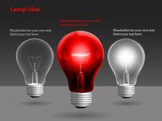 Lamp idea template