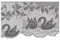 Gallery.ru / Фото #45 - 343 - ergoxeiro Filet Crochet Charts, Crochet Diagram, Knitting Charts, Crochet Motif, Crochet Doilies, Knit Crochet, Crochet Patterns, Crochet Birds, Thread Crochet