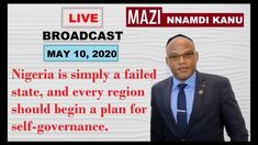 Join Mazi Nnamdi Kanu Live Broadcast Today Been Give It To Me, Join, Thankful, How To Plan, Live, Videos, Youtube, Video Clip