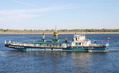 """O barco """"Werenfried"""" no rio Volga, um dos mais emblemáticos projectos de cooperação entre a AIS e a Igreja Ortodoxa Russa."""