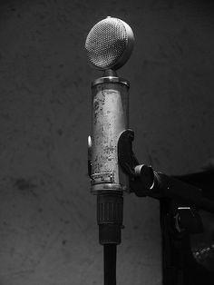 Vintage Neumann mic