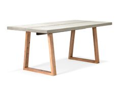 Der robuste Betontisch, besteht aus einer Betontischplatte und einem Massivholz Gestell aus Akazie. Esstisch aus Beton versandkostenfrei bestellen auf: http://moebeldeal.com/raeume/kueche-und-esszimmer/tische/5696/esstisch-beton-betontisch-/-akazie  #betontisch #akazie #esstisch