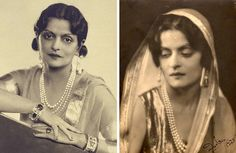 When the chapter of beauty turn its leaves, the beautiful Royal Princesses of India stands on the glittering grounds. They are true epitome of elegance and beauty. India being a rich country in its. Indian Princess, Royal Princess, Princess Aurora, Gayatri Devi, Royal Indian, Indian Colours, Vintage India, Colorful Fashion, Fashion History