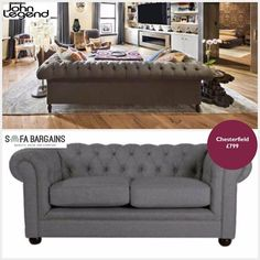 CELEBRITY SPOTTED ALERT! Are you a John Legend fan? Well we have something for you. You can have a sofa like his whch is surely nowhere near the price he would have paid for it! Check out the Chesterfield Rene here http://ift.tt/1YbY4mi