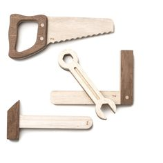 Wooden Tools Fanny and Alexander Toys and Hobbies Children Fanny And Alexander, Teak Wood, Tool Box, Wooden Toys, Bottle Opener, Hobbies, Good Things, Tools, Children