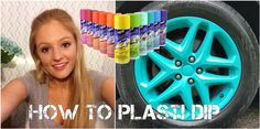 DIY Cars Hacks : Illustration Description How to Plasti Dip your rims -Read More - Kia Soul Accessories, Mini Cooper Accessories, Cute Car Accessories, Custom Truck Parts, Custom Trucks, Custom Cars, Plasti Dip Car, Jeep Rims, Jeep Jeep