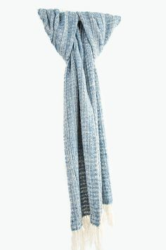Aqua Blue Renaissance Lace Wrap by Liz Christy. Hand-Woven in Ireland Very proud of her county's lace making heritage, Liz designed this…