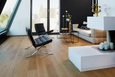 Bauwerk Parkett - Parkett erleben in unseren Showrooms - Bauwerk Parkett: wohngesunde Qualität aus der Schweiz