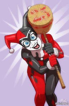 Celebrating the anniversary of Harley Quinn Harley Quinn Tattoo, Harley Quinn Drawing, Harley Quinn Comic, Joker And Harley Quinn, Harely Quinn, Arte Dc Comics, Batman The Animated Series, Comic Book Characters, Gotham City
