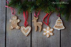 Wooden Gingerbread Cookies