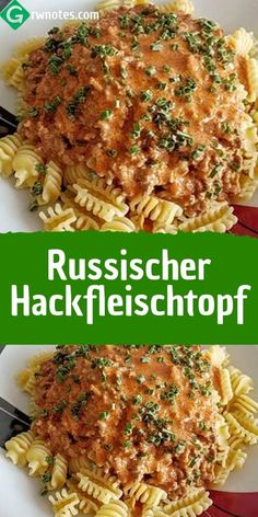 Russischer Hackfleischtopf – REZEPTE One Pot, Weeknight Meals, Soul Food, Bento, Ground Beef, Food Inspiration, Food Porn, Brunch, Food And Drink