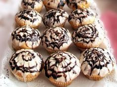 Muffins pufosi - foarte gustosi
