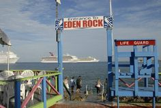 Eden Rock Diving Center Ltd, George Town, Cayman Islands — by Jaana Nystrom. Eden Rock: Nice place for snorkeling or diving bang in the middle of Georgetown, Grand Cayman. There's a bar and dive...