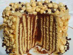 Tarta rayada de nutelas Ana Sevilla cocina tradicional