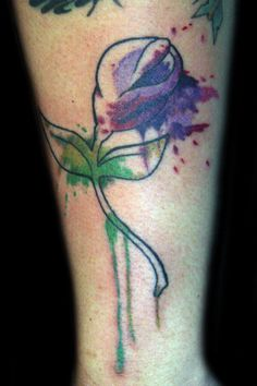 Maybe I'll incorporate this on a future tat. Since calla lillies are my wedding flowers