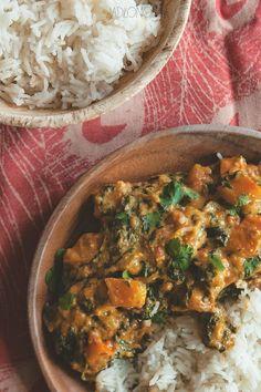 Curry z dynią i masłem nerkowcowym