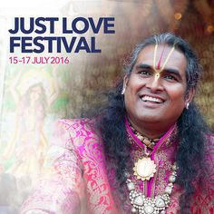 The Just Love Festival was celebrated at The Ashram, Shree Peetha Nilaya in Germany. It was three amazing days and nights of experiencing Bhakti, Satsang and Just Love..   Thousands of like-minded individuals from all over the world made their way to The Ashram to experience the exceptional music performances such as Bhakti Wave (rap), Gadadhar (rock band), Sati Kazanova, Karthiegasen (classical south indian music) and many many more, as well as the delicious food and sweets and numerous…