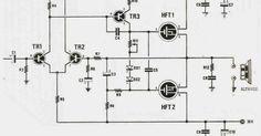 Amplificadores de audio: Amplificador transistorizado de