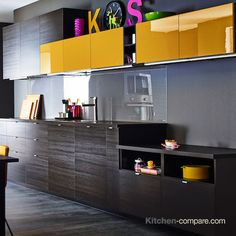 1000 images about dark wood effect kitchens on pinterest ikea drawers and make it - Modern look kitchen cabinets pictures for maximum effect ...