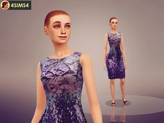 Purple female dress: Found in TSR Category 'Sims 4 Female Formal' Sims 4 Tsr, Female Dress, Purple Dress, Give It To Me, Formal Dresses, Clothes, Fashion, Dresses For Formal, Outfits