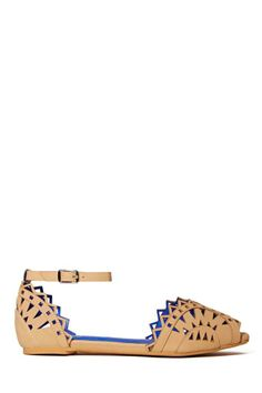 Jeffrey Campbell Picado Flat - Beige