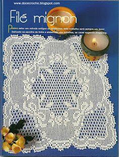 Promote your interior design company with seo - Crochet Filet Crochet Table Runner Pattern, Crochet Doily Patterns, Crochet Tablecloth, Crochet Squares, Crochet Designs, Crochet Doilies, Crochet Books, Crochet Home, Thread Crochet