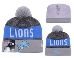 5af2ff43 Men's / Women's Detroit Lions New Era NFL 2016 Sideline Sprots Knit Pom Pom  Beanie Hat