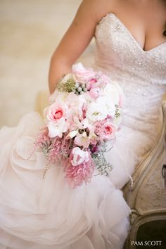 Coordination & Florals by: Breezy Day Weddings Photo by: Pam Scott Venue: Westgate Hotel